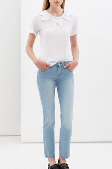 Slim fit stretch jeans, Soft Blue, hi-res