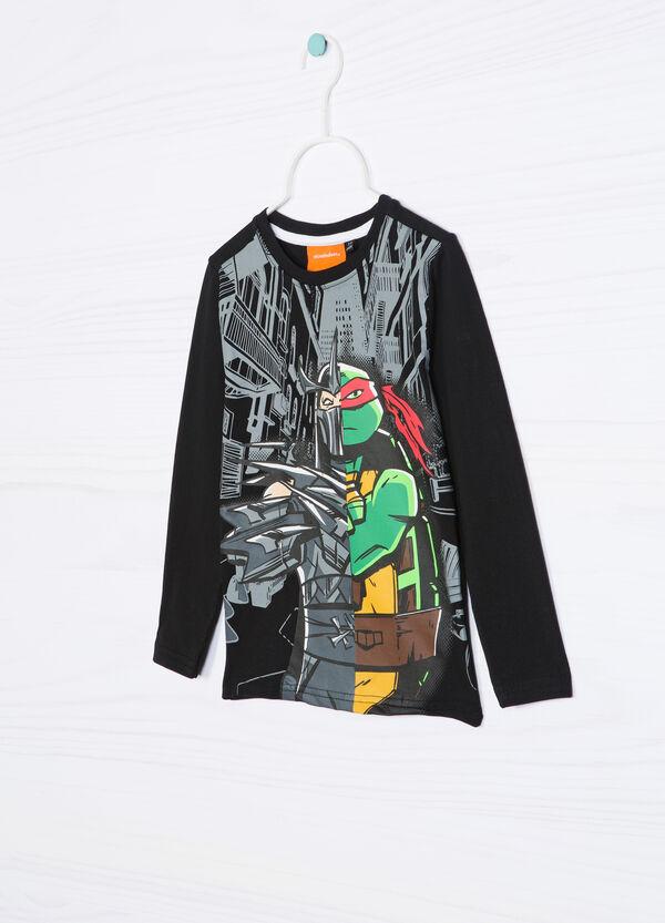 Teenage Mutant Ninja Turtle T-shirt in 100% cotton. | OVS