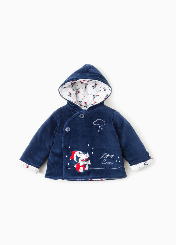 Jacket with Baby Mickey Mouse patch | OVS