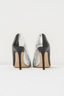 Pumps, Jean Paul Gaultier for OVS, Black/Silver, hi-res