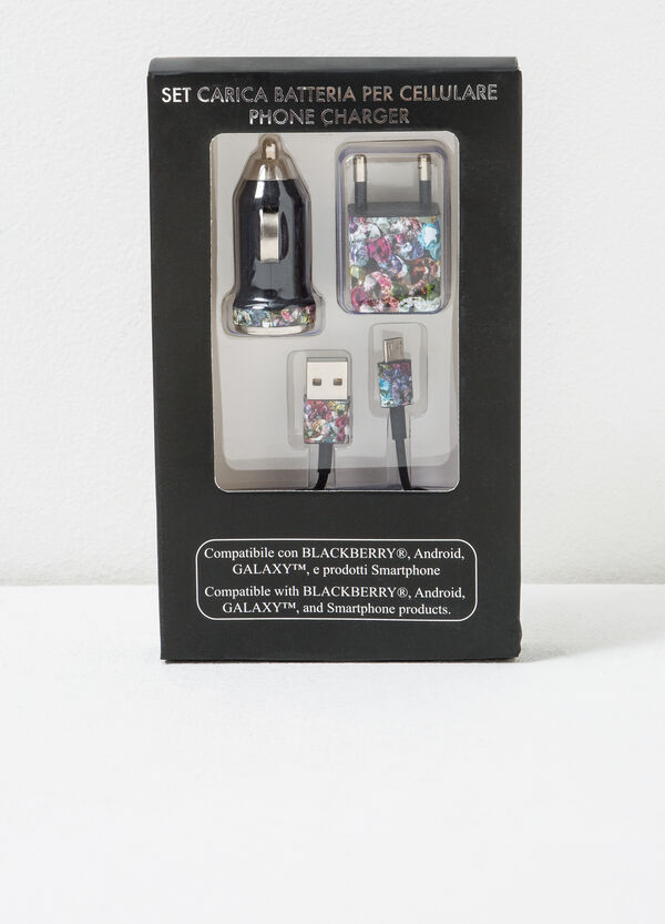 Battery charger set for smart phone   OVS