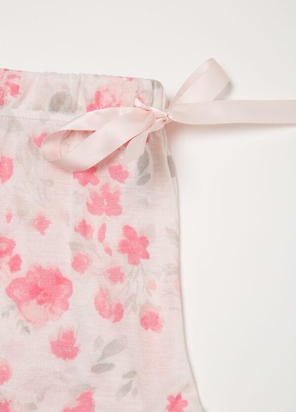 Pantaloni pigiama viscosa fantasia | OVS