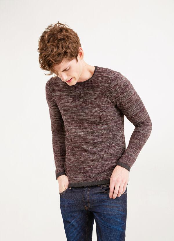 Jersey en punto tricot de mezcla de algodón | OVS