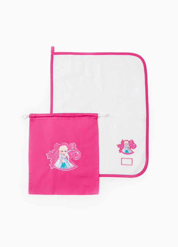 Cotton kindergarten set with Frozen patch | OVS
