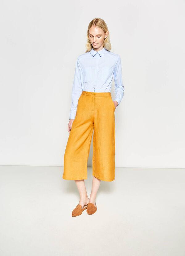Pantalón culotte tobillero | OVS