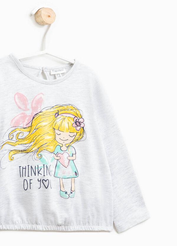 T-shirt with elasticated hem | OVS