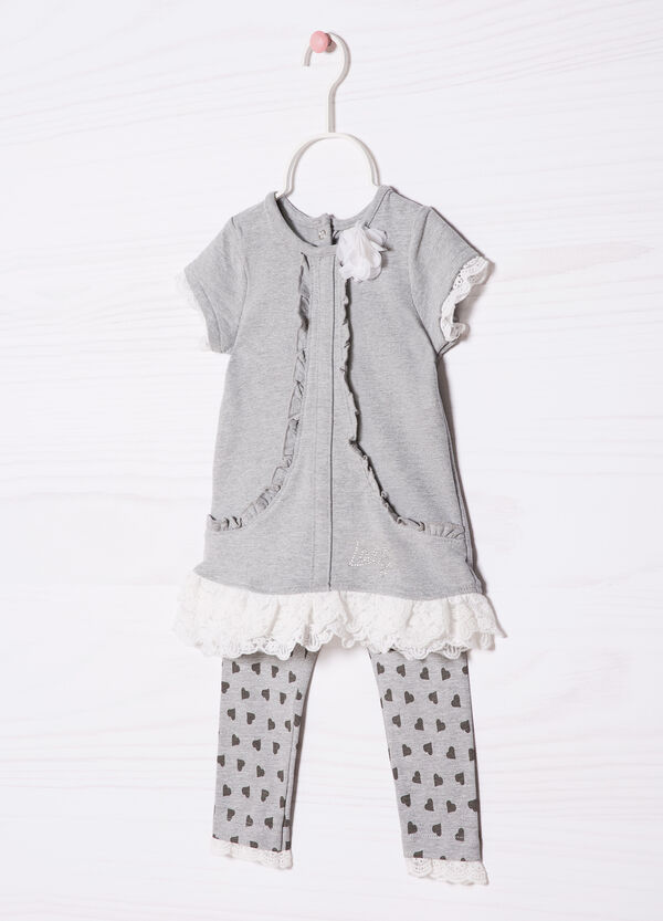 Printed stretch cotton outfit | OVS