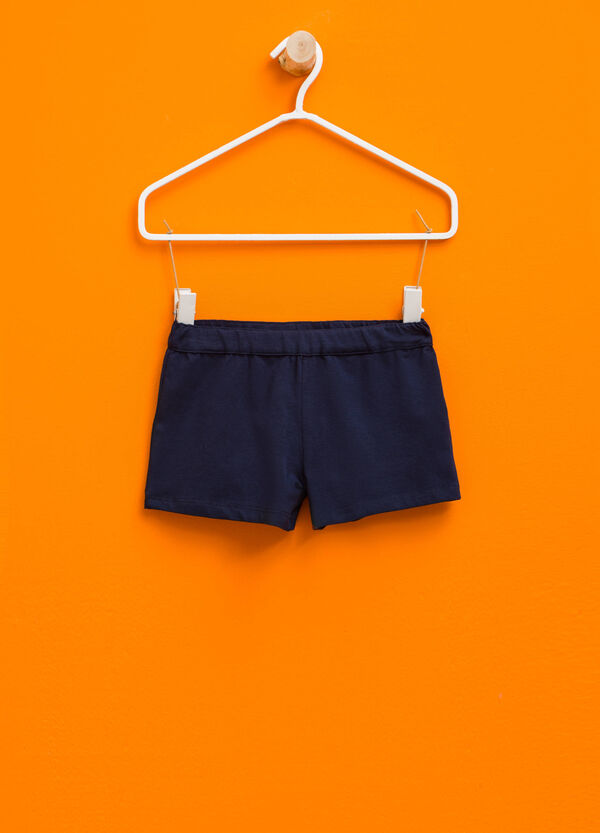 Shorts in stretch cotton | OVS