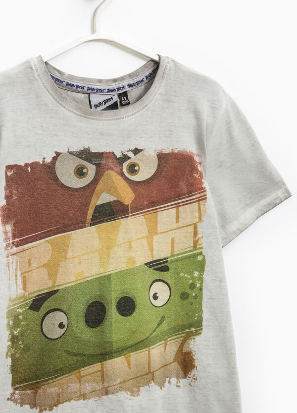 Cotton T-shirt with Angry Birds print | OVS