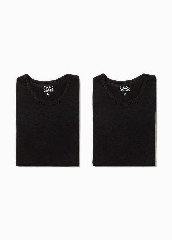 Two-pack stretch undershirts | OVS