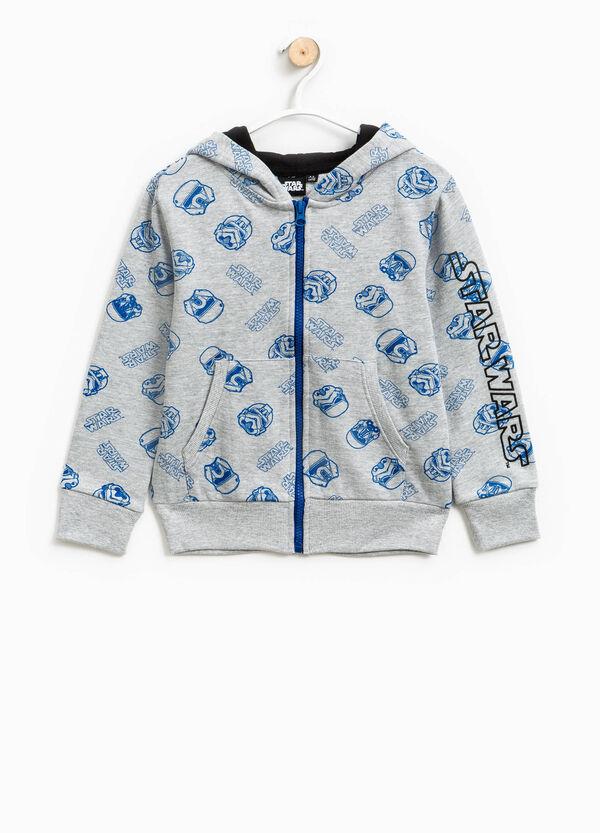 100% cotton sweatshirt with Star Wars pattern | OVS