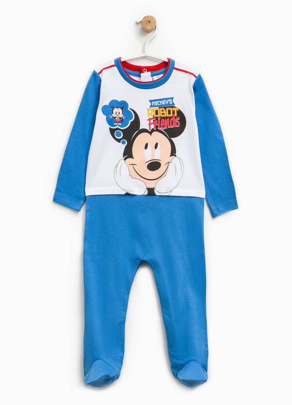 Mickey Mouse Robot onesie with feet | OVS