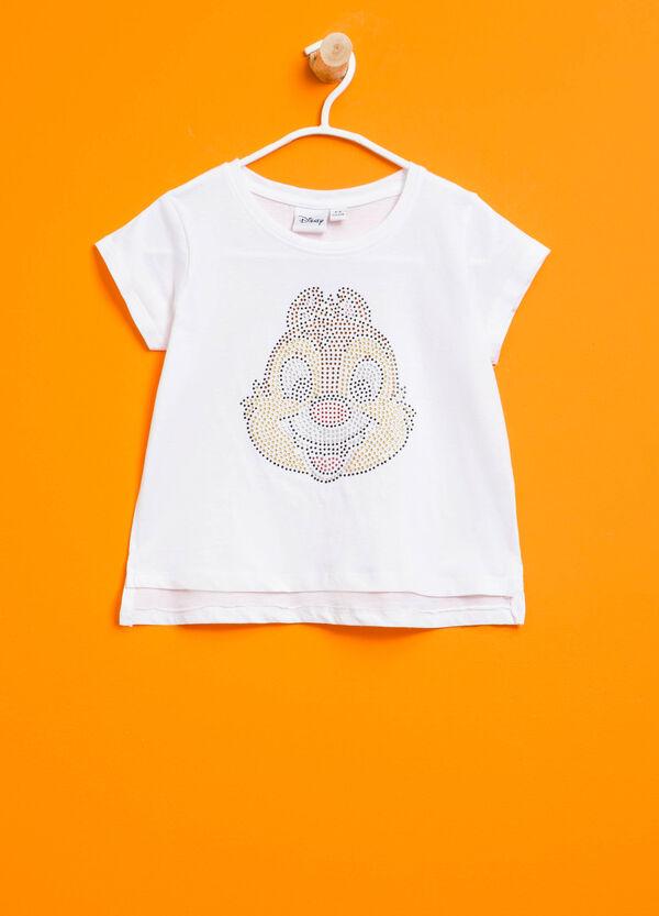 Chip 'n' Dale T-shirt with diamantés | OVS