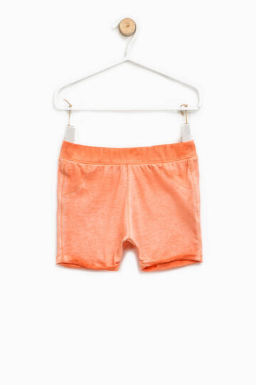 Pantaloncini effetto maltinto