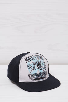 Maui and Sons cotton baseball cap, Blue, hi-res