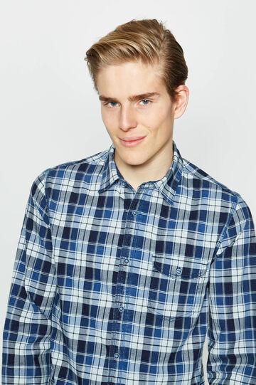 G&H check cotton casual shirt