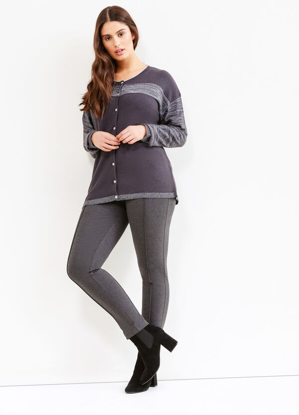 Leggings stretch con borchie Curvy | OVS