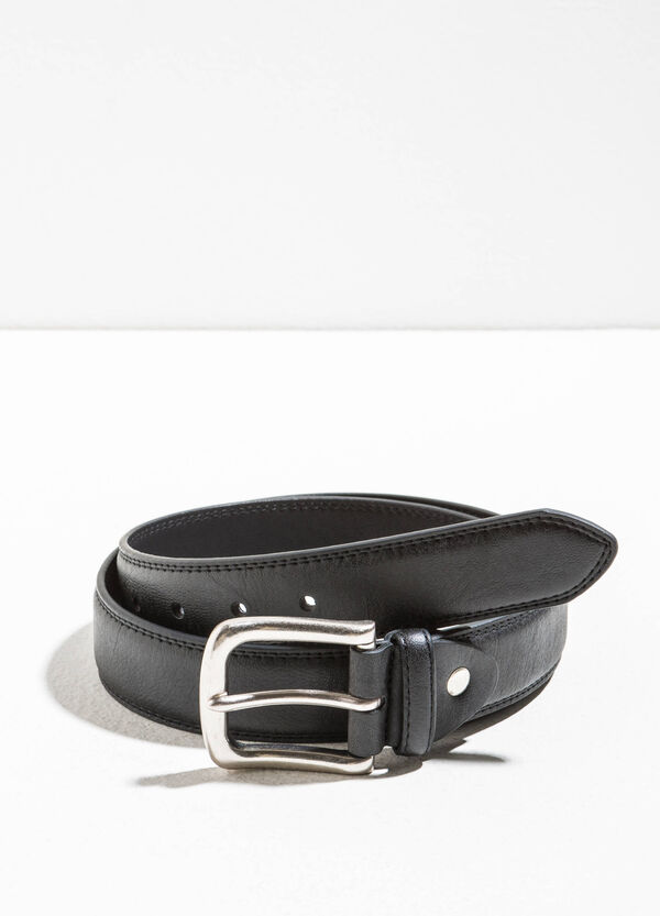 Belt with rounded buckle | OVS