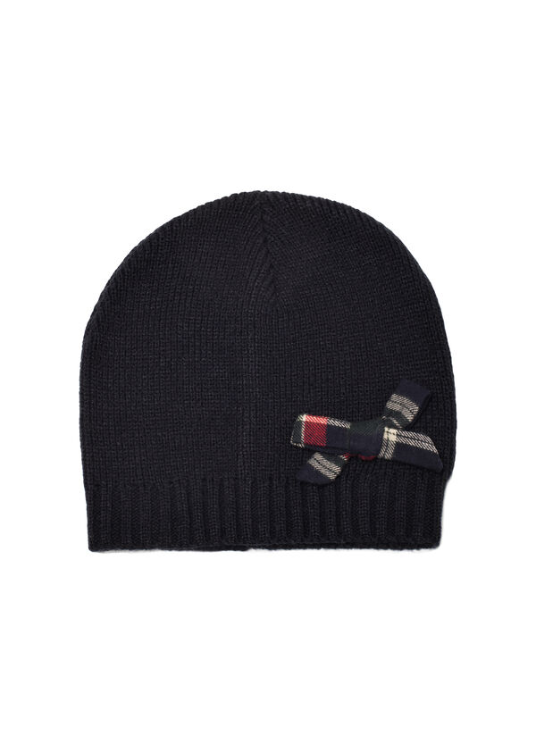 Beanie cap with ribbon | OVS