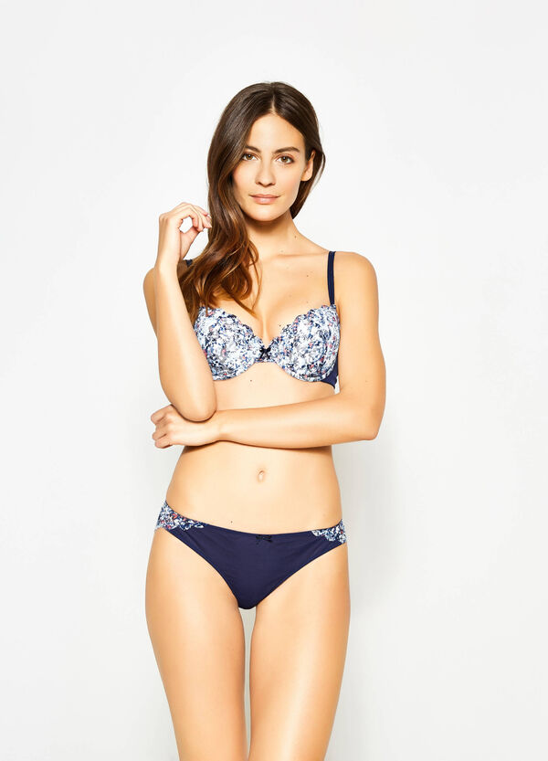 Briefs with floral lace back | OVS