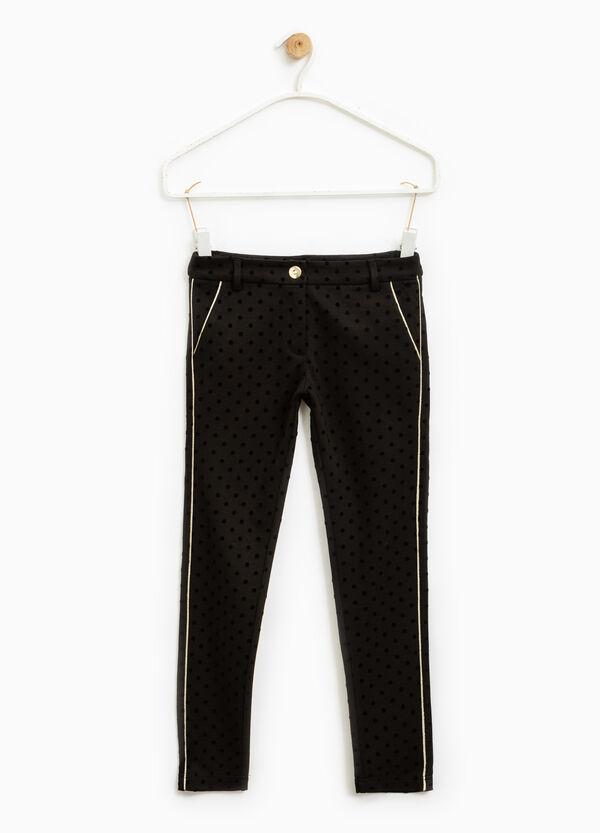 Pantaloni puro cotone a pois | OVS
