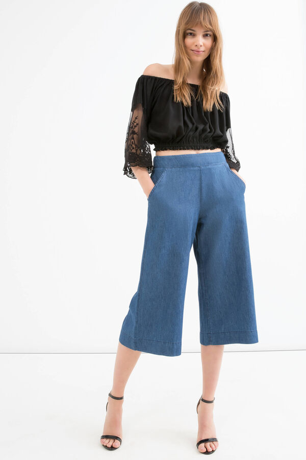 High waist jeans with pockets | OVS