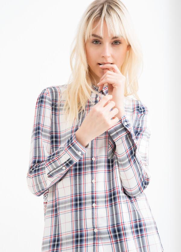 Camicia pura viscosa fantasia | OVS