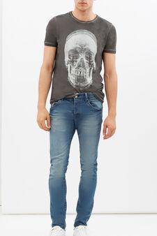 Ombré printed T-shirt, Smoke Grey, hi-res