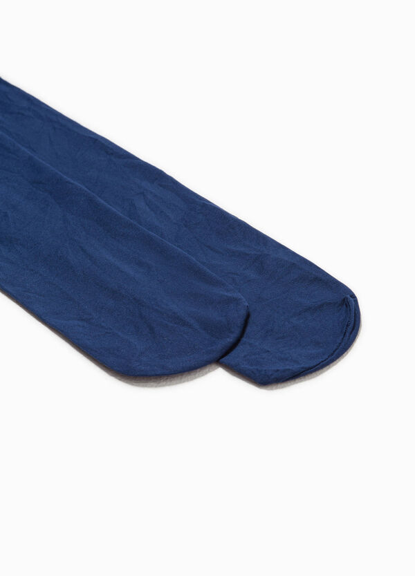 Solid colour stretch tights | OVS