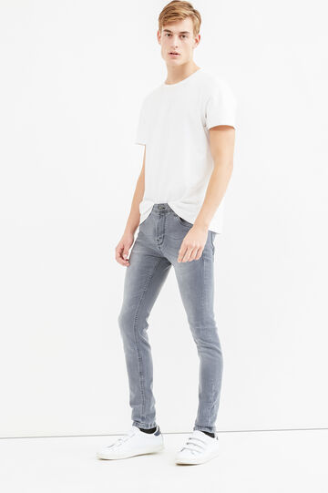 Used super skinny fit jeans, Light Wash, hi-res