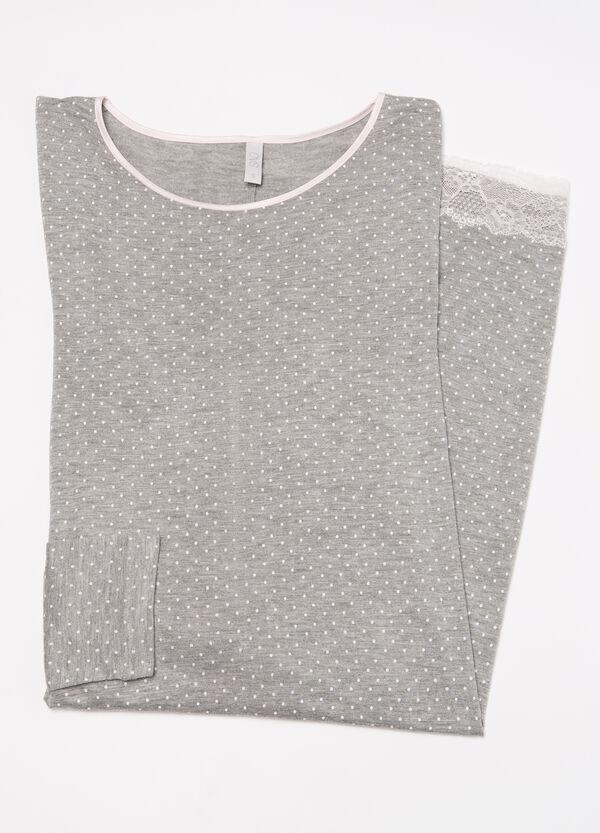 100% viscose nightshirt. | OVS