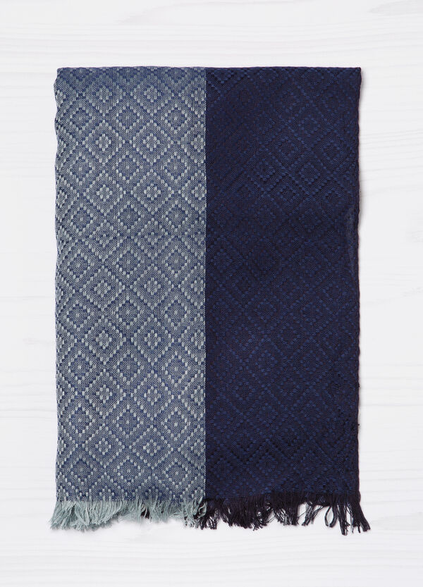 Two-tone scarf in 100% viscose | OVS