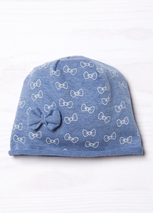 Beanie cap with bow | OVS