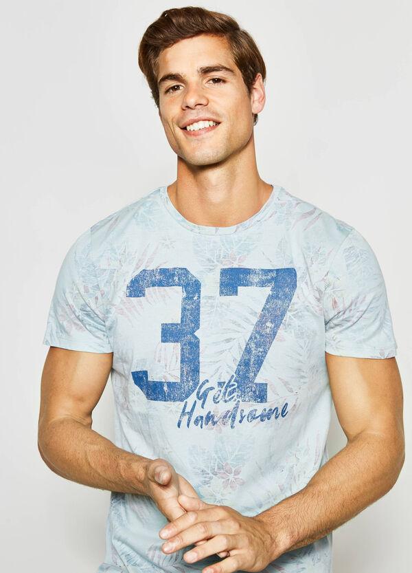 T-shirt cotone fantasia floreale G&H | OVS