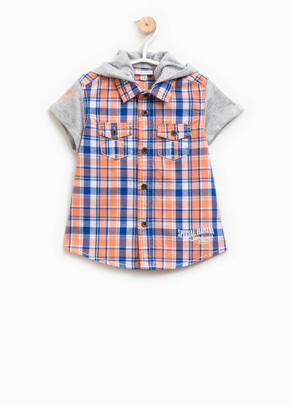 Camicia tartan con cappuccio | OVS