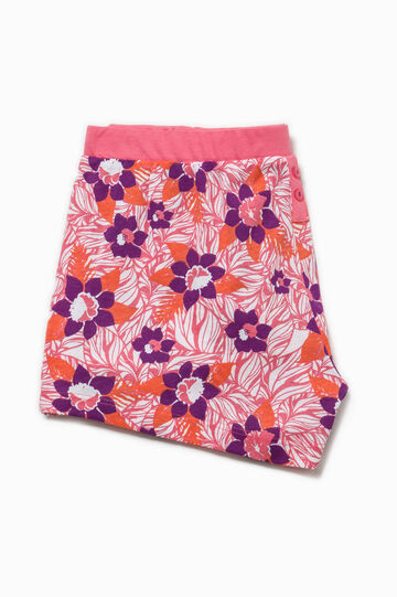 Pyjama shorts with all-over print