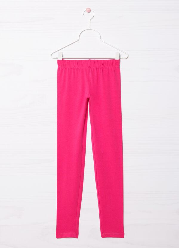 Stretch cotton leggings | OVS
