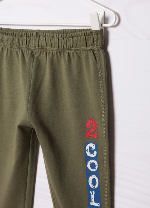 Set due pantaloni tuta puro cotone | OVS