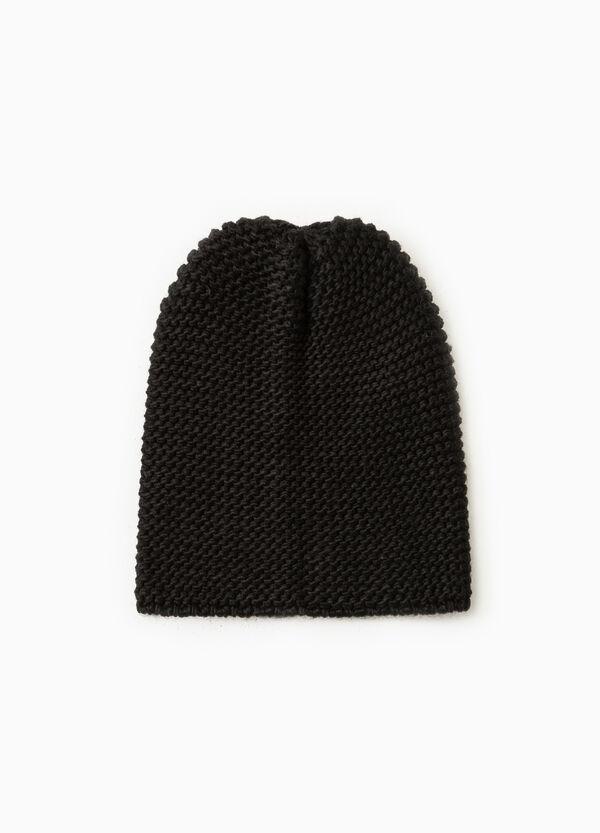 Chunky knit beanie cap | OVS