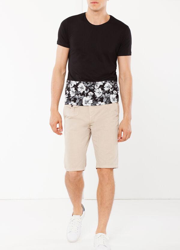 T-shirt a maniche corte bicolore | OVS
