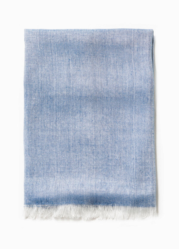 Solid colour 100% viscose scarf | OVS