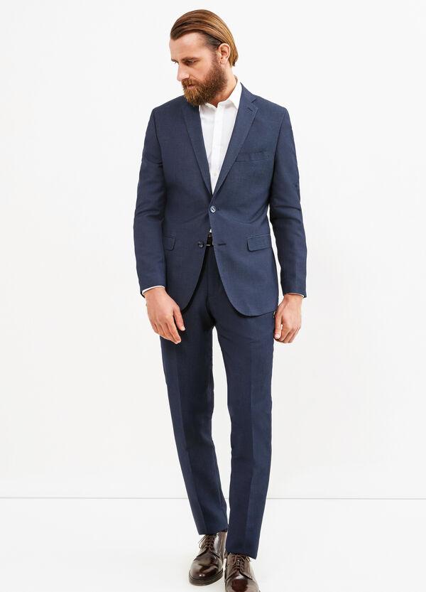 Elegant, regular-fit suit in viscose   OVS