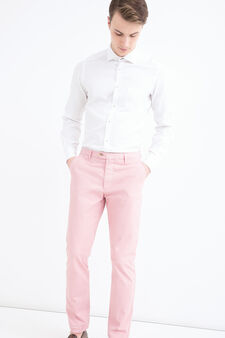 Rumford stretch trousers, Pink, hi-res