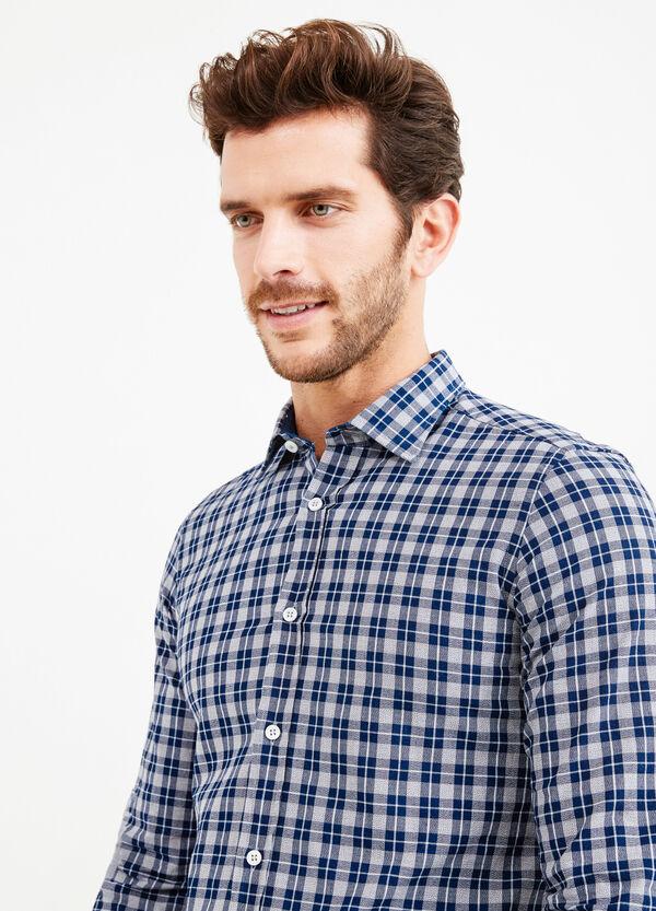 Camisa Rumford slim fit de tartán | OVS