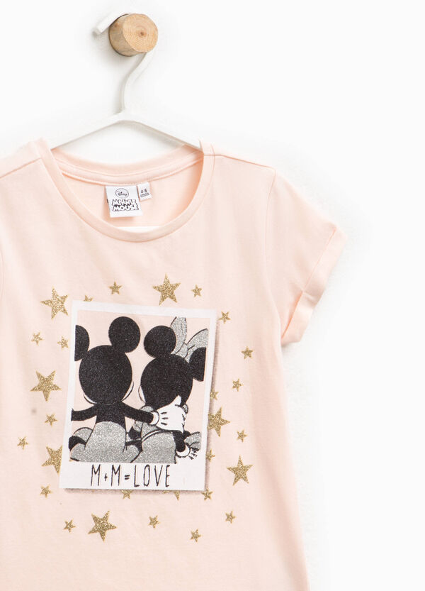 T-shirt with Mickey and Minnie Mouse print | OVS