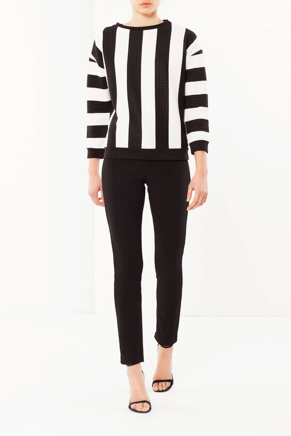 Striped sweatshirt | OVS