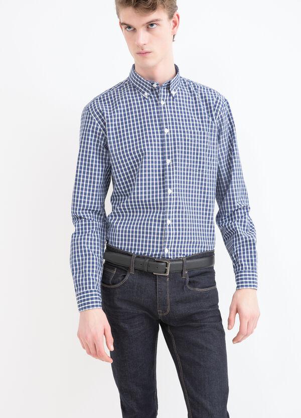 Camicia tartan misto cotone | OVS