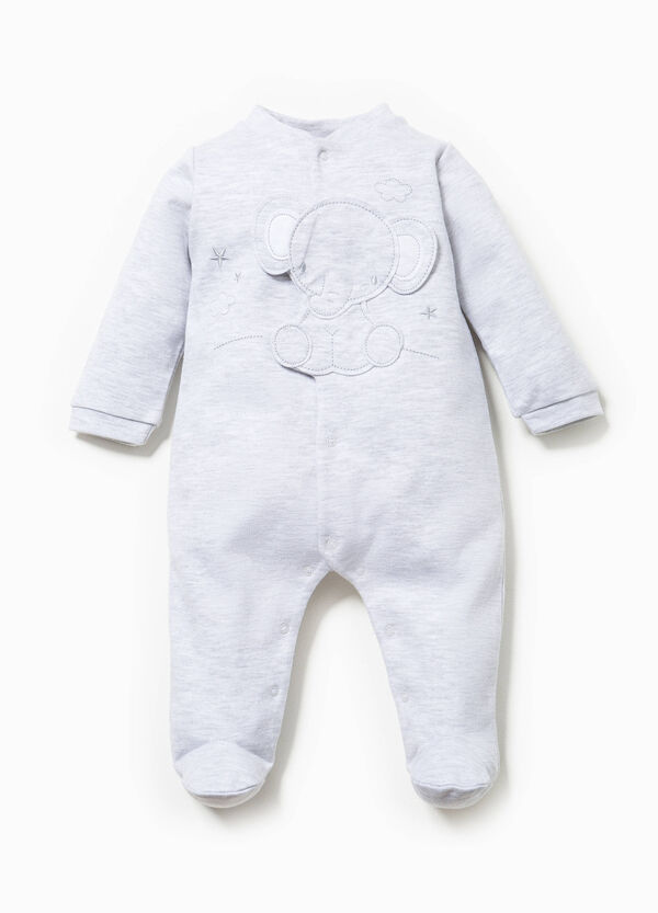 Onesie with feet and patch on chest | OVS
