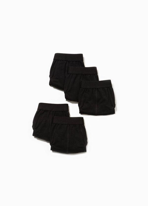 Pack de cinco calzoncillos en algodón elástico | OVS