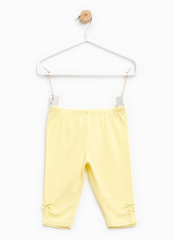 Pantaloni in cotone con fiocco | OVS